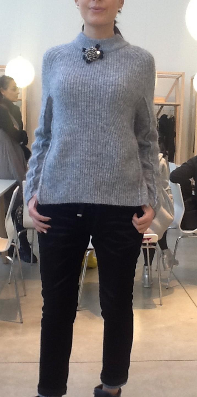 Брюки-джинсы  синие HIGH 701721