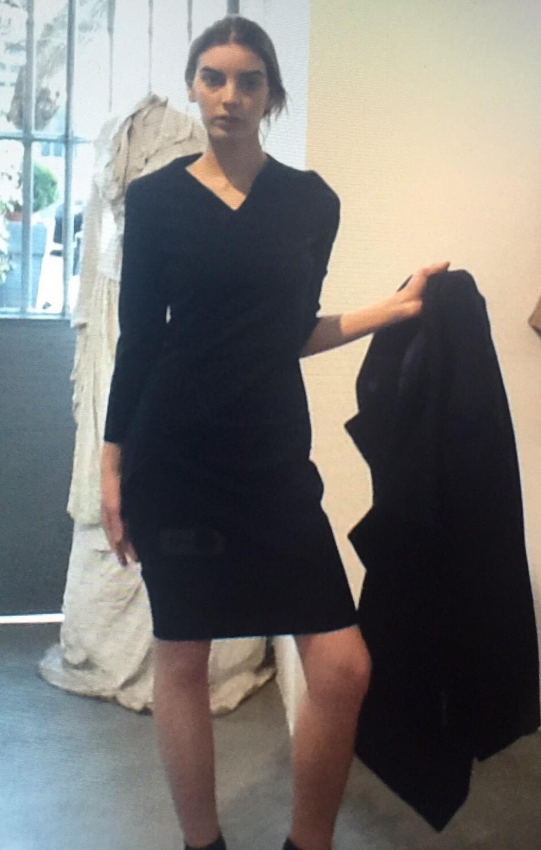 Платье серое Malloni 012TR