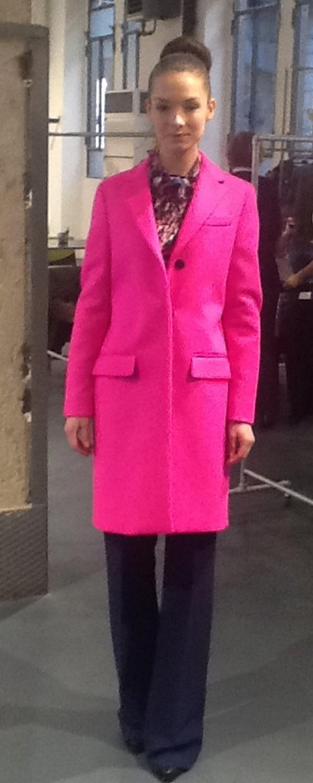 Пальто розовое MSGM 133