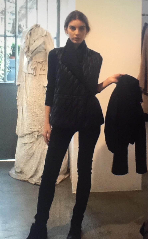 Пальто с жилеткой Malloni 50142