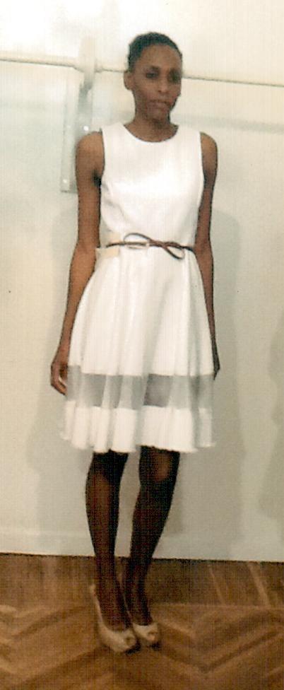 Платье белое KI6? арт.AB26