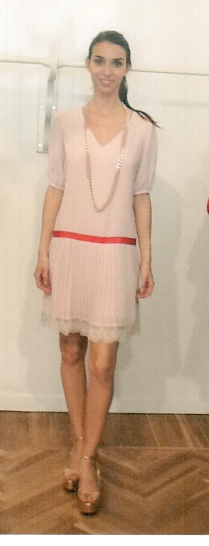 Платье розовое KI6? AB77