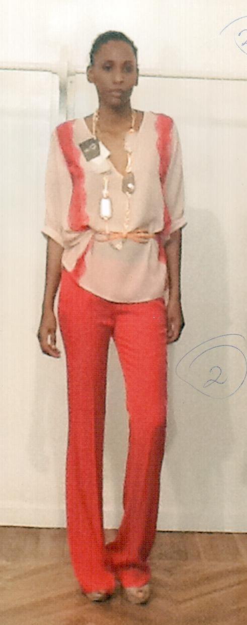 Блузка розовая KI6? CM16