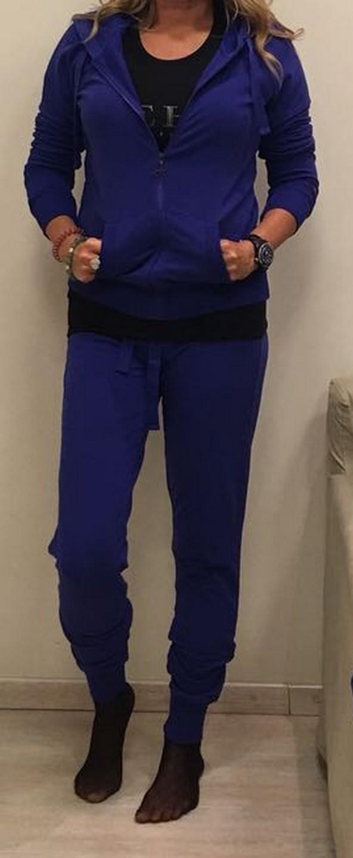 Олимпийка синяя  DEHA 427400
