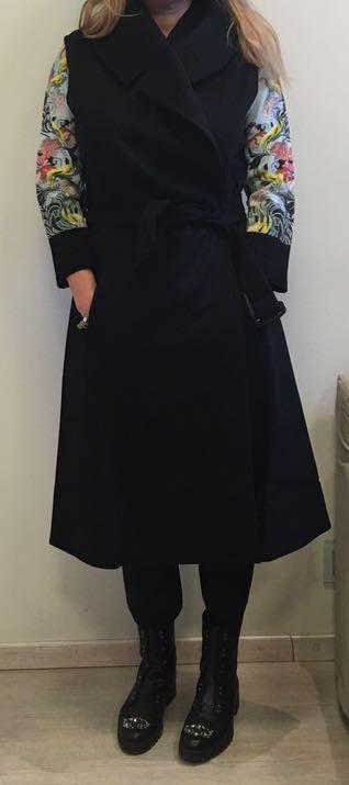 Полупальто без рукавов черное I.Marras 119105