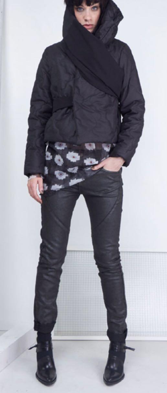Куртка черная Malloni 178001