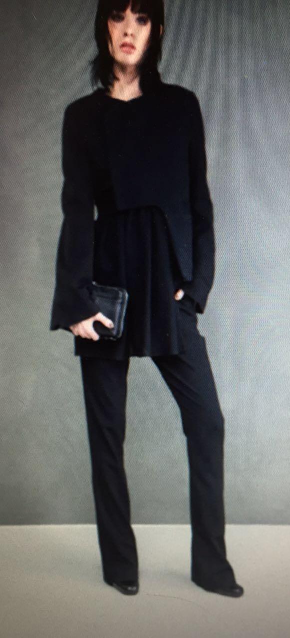Пиджак черный Malloni 50112S004