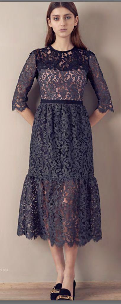 Платье серое кружева SFIZIO арт.6336