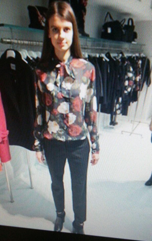 Рубашка с розами Blugirl Blumarine арт.2360