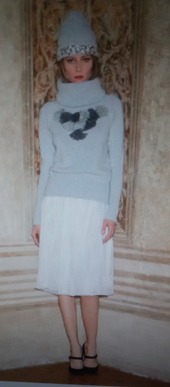 Свитер серый Blugirl Blumarine арт.2064