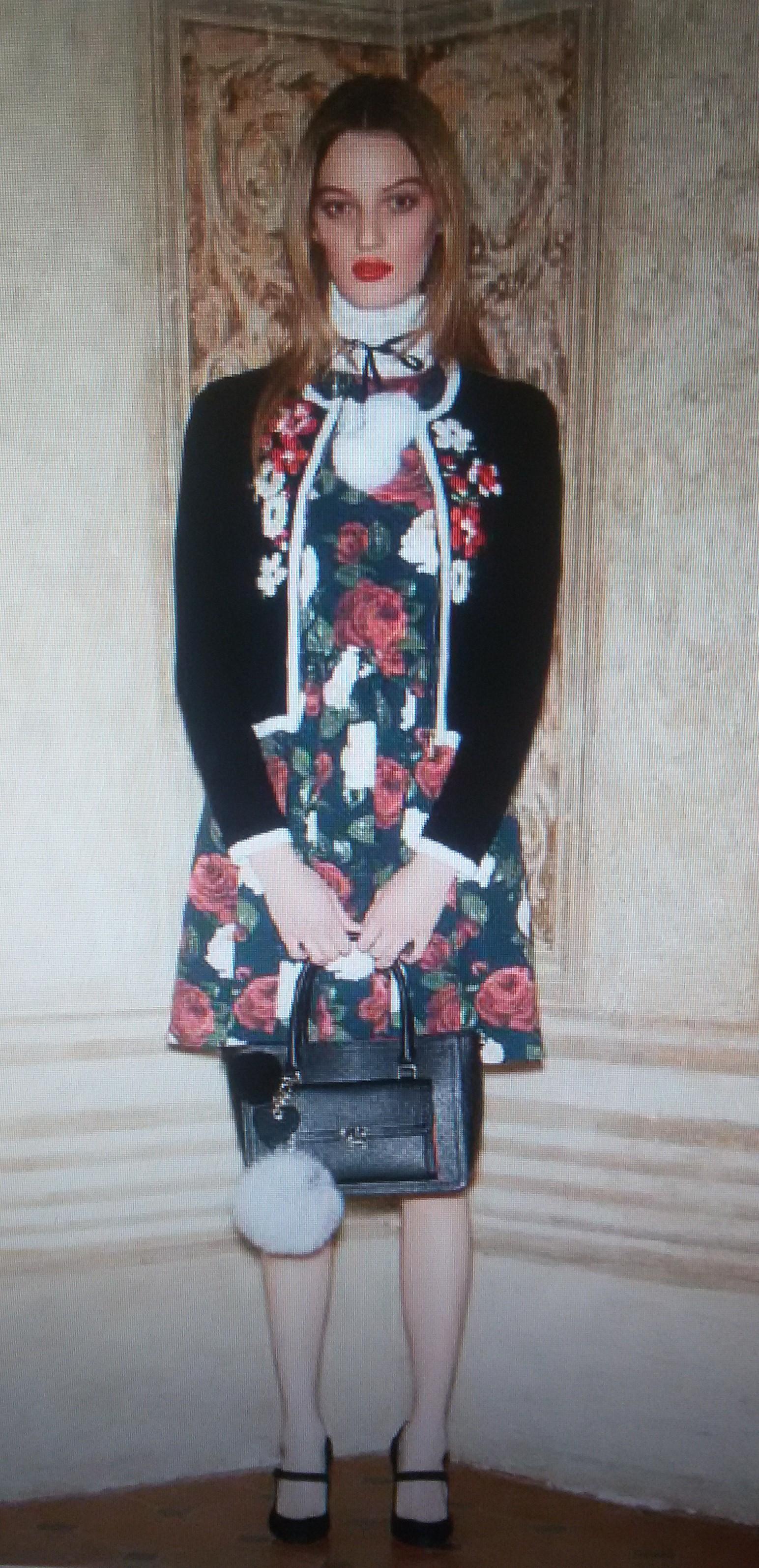 Платье с розами Blugirl Blumarine арт.47388
