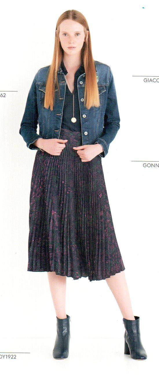 Пиджак джинсовый Ottod`Ame арт.4668