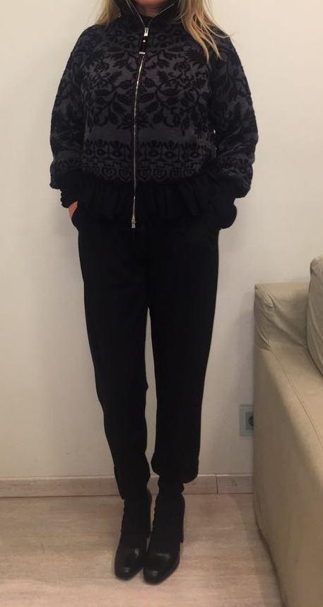 Пиджак син.черный HIGH арт.751960