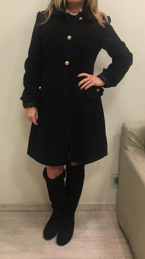 Пальто черное KRISTINA EFFE арт.3112
