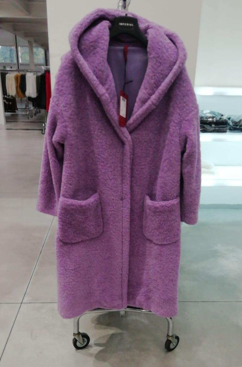 Пальто фиолетовое арт.KF94WKL Imperial