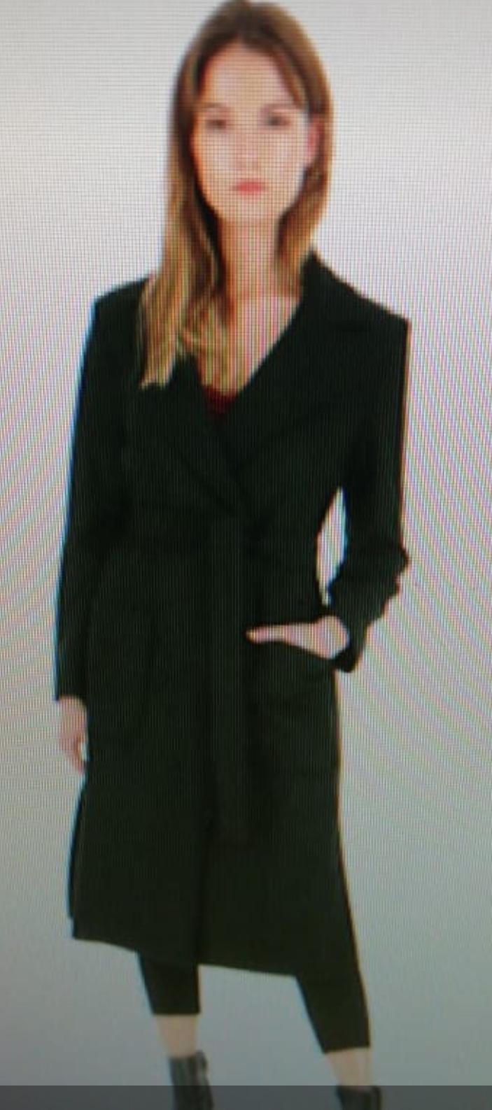 Пальто черное арт.KF99WLP Imperial