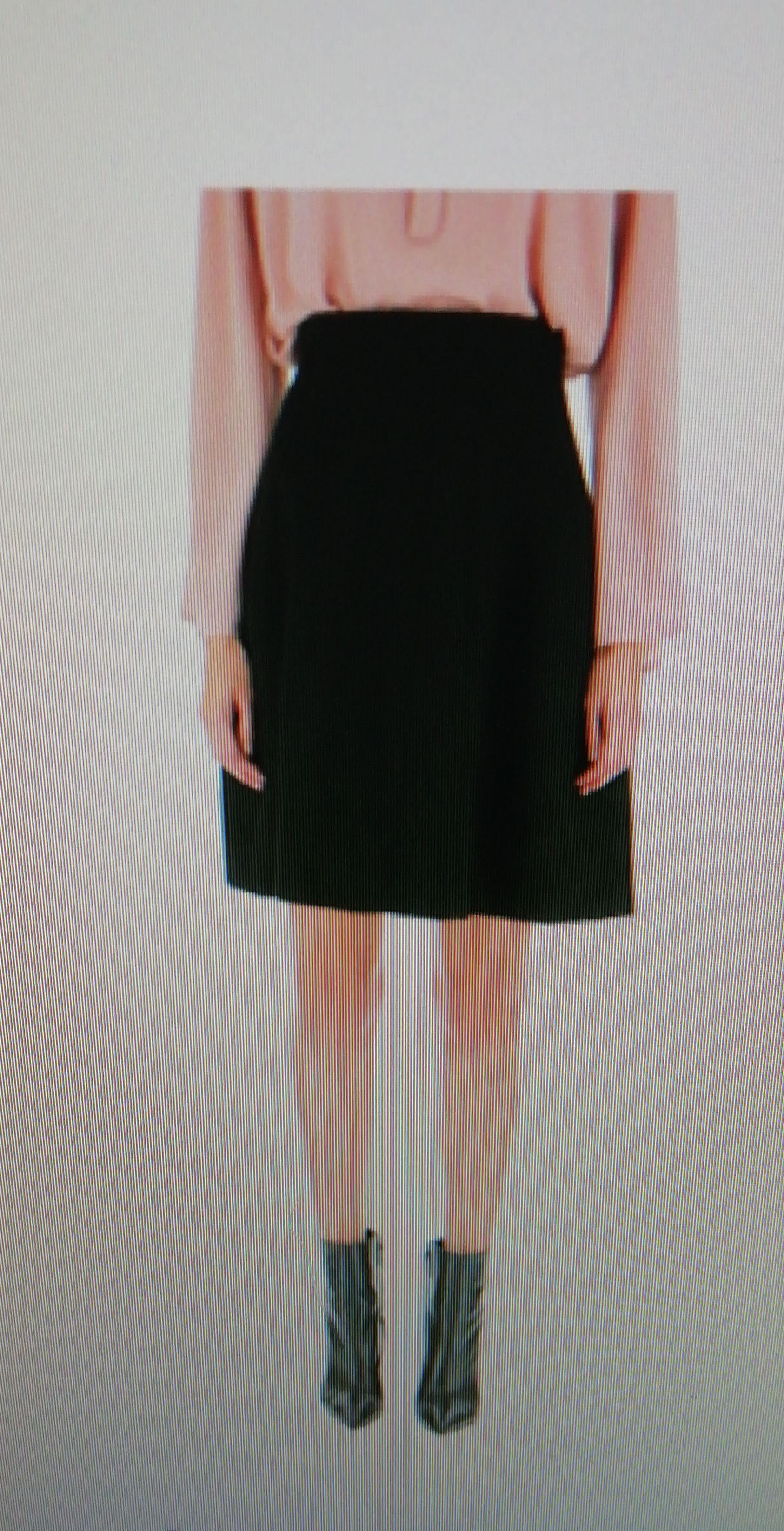 Юбка черная арт.GEC7WOQ Imperial
