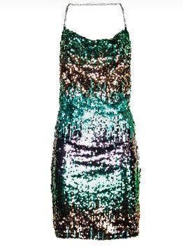 Платье блестки арт.A999026G Imperial