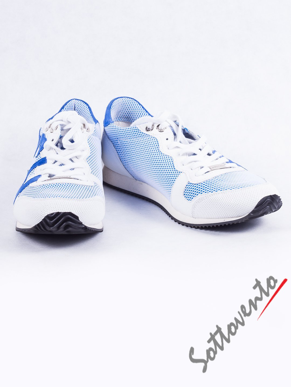 Кроссовки бело-голубые Richmond 2638