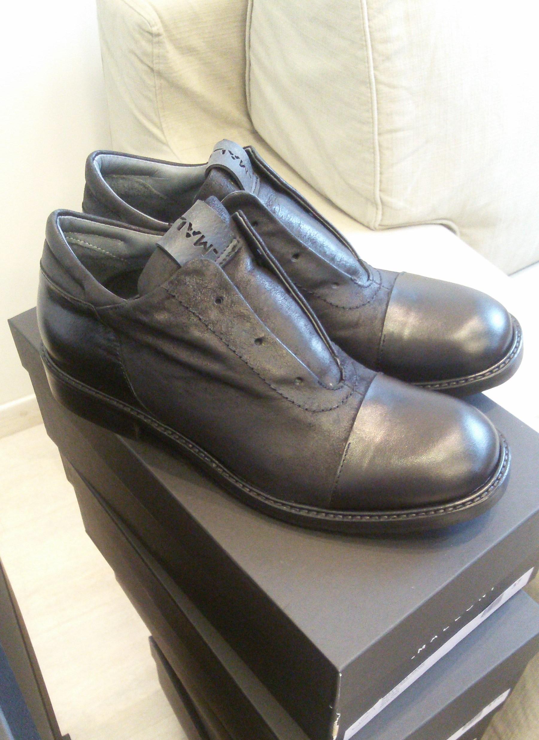Ботинки черные Malloni 97055