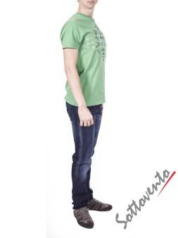 Футболка зеленая  Armani J T6H26SQ Image 3