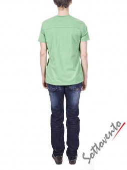 Футболка зеленая  Armani J T6H26SQ Image 4