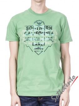 Футболка зеленая  Armani J T6H26SQ Image 0