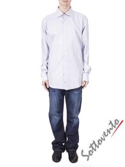 Рубашка светло-серая COMO FIRENZE  Giovanni Rosmini Image 3