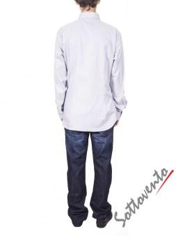 Рубашка светло-серая COMO FIRENZE  Giovanni Rosmini Image 2