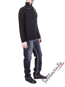 Свитер тёмно-серый Richmond 2215. Image 3