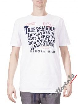 Футболка белая True Religion ABM69A Image 0