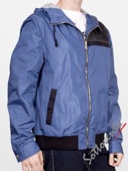 Ветровка сине-чёрная  Richmond 1600. Image 2
