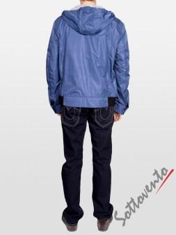 Ветровка сине-чёрная  Richmond 1600. Image 5