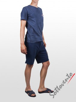 Шорты синие Cycle Men MPT226. Image 3