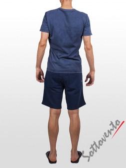 Шорты синие Cycle Men MPT226. Image 4