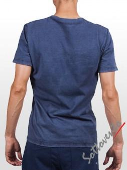 Футболка синяя Cycle Men MTS113. Image 1