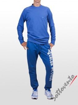 Поло синий Cycle Men MFL051. Image 2