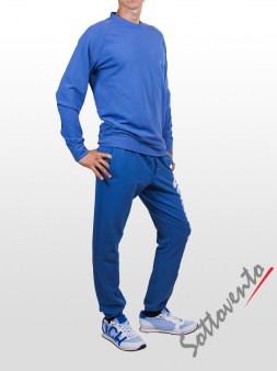 Поло синий Cycle Men MFL051. Image 3
