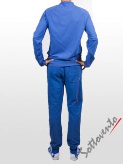 Поло синий Cycle Men MFL051. Image 4