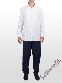 Рубашка белая Cycle Men MCM150. Image 2