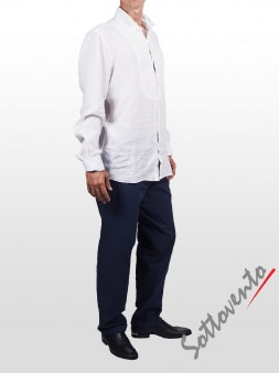 Рубашка белая Cycle Men MCM150. Image 3