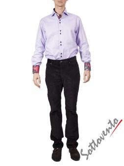 Рубашка сиреневая FIRENZE  Giovanni Rosmini Image 2