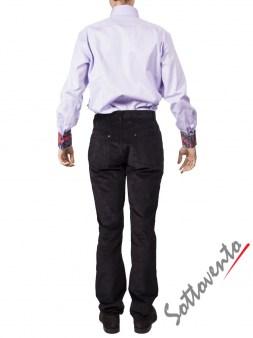 Рубашка сиреневая FIRENZE  Giovanni Rosmini Image 4