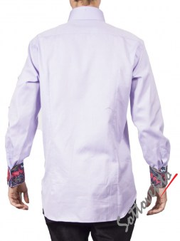 Рубашка сиреневая FIRENZE  Giovanni Rosmini Image 1