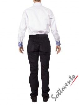 Рубашка  белая Giovanni Rosmini PIAVEW020. Image 4