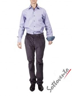 Рубашка голубая Giovanni Rosmini PLATINO264. Image 2
