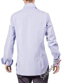 Рубашка голубая Giovanni Rosmini PLATINO264. Image 1
