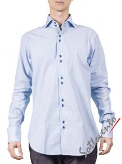Рубашка голубая Giovanni Rosmini PLATINO266. Image 0