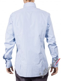 Рубашка голубая Giovanni Rosmini PLATINO266. Image 1