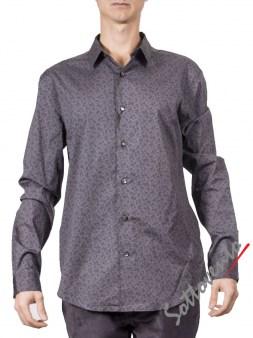 Рубашка серая   Varvatos W459. Image 0